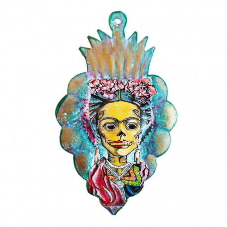 Catrina Frida Painted heart