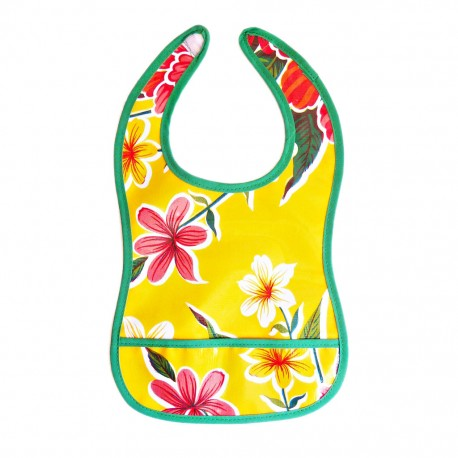 Yellow Baby bib