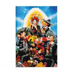 Mariachis Postcard