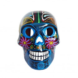 Black Large Mexican skull
