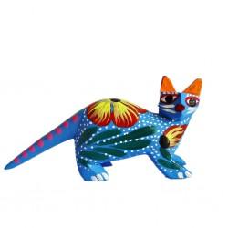 Blue Cat Alebrije