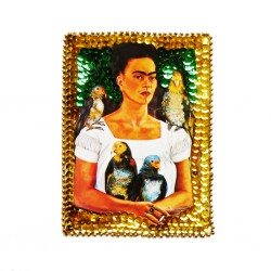 Mi and my parrots Sequin patch