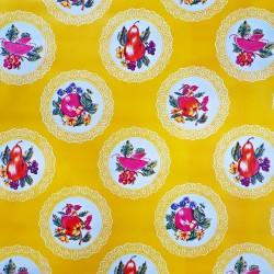 Oilcloth Carpetas Yellow