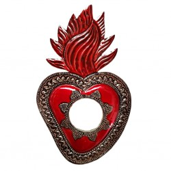 Sun Sacred heart mirror