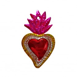 Petit coeur sacré Rose