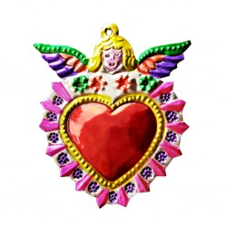 Pink Angel Sacred heart