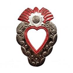 Sunflower Sacred heart mirror
