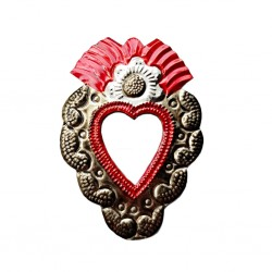 Sunflower Small sacred heart mirror