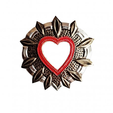 Halo Small sacred heart mirror