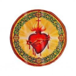 Sticker holográfico Sagrado corazón