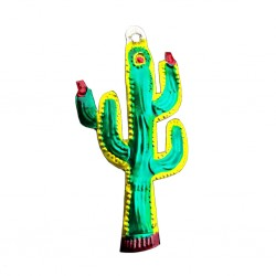 Cactus Tin ornament