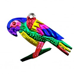 Parrot Tin ornament