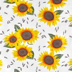 Sunflowers Oilcloth