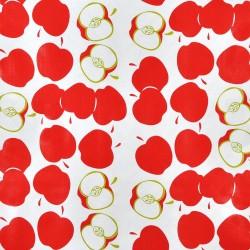 Red Manzana oilcloth