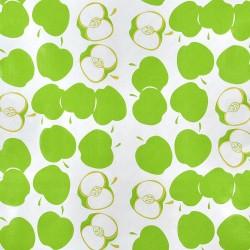 Green Manzana oilcloth