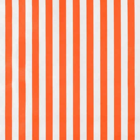 Toile cirée Rayas Orange