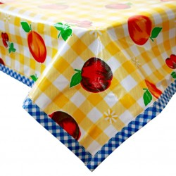 Yellow Frutal oilcloth