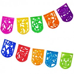Papel picado Muertitos
