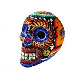 Petit crâne mexicain Huichol