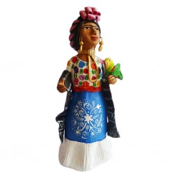 Frida Poblana Figure