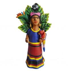 Statuette Frida con Mono