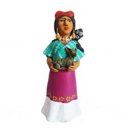 Statuette Frida con Perro