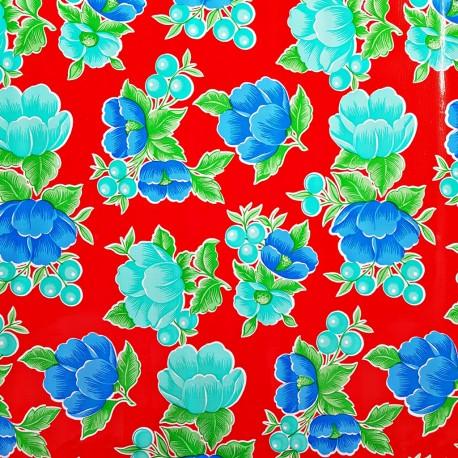 Red Capullo oilcloth
