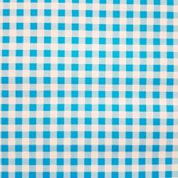 Toile cirée Vichy Bleu