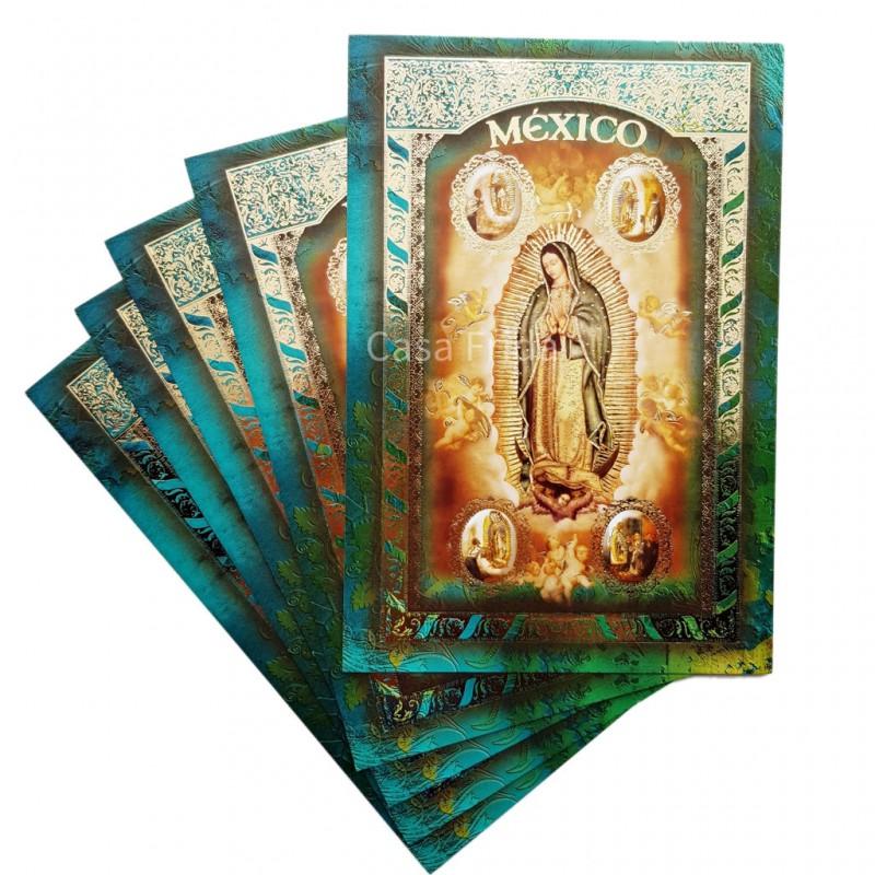 Carte postale Vierge de Guadalupe - Carte porte bonheur - Casa Frida