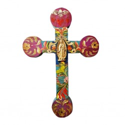Cruz Virgen de Guadalupe