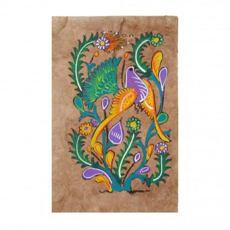 Bird Otomi painting