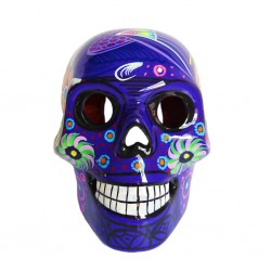 Purple Large Mexican skull