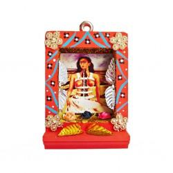 Orange Small Frida Kahlo shrine