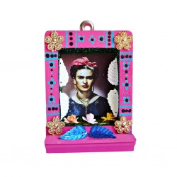 Pink Small Frida Kahlo shrine