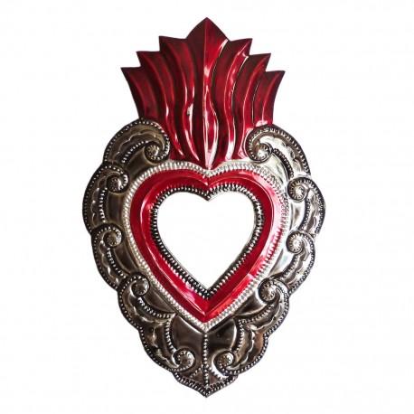 Miroir coeur sacré