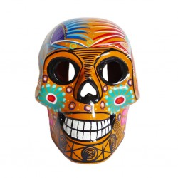 Yellow Large Mexican skull