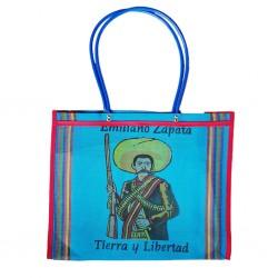 Blue Zapata market bag