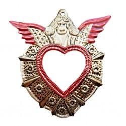 Espejo sagrado corazón Angel