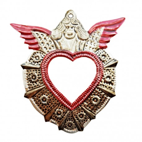 Angel Sacred heart mirror