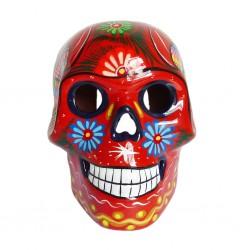 Gros crâne mexicain Orange