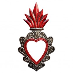 Sacred heart with mirror