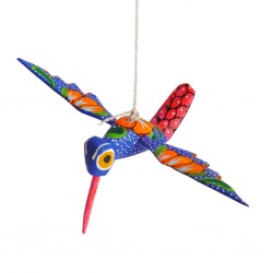 Blue Hummingbird Alebrije