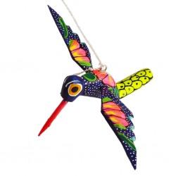 Navy Hummingbird Alebrije