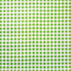 Toile cirée Vichy Vert