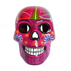 Pink Large Mexican skull