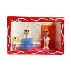 The birth diorama box