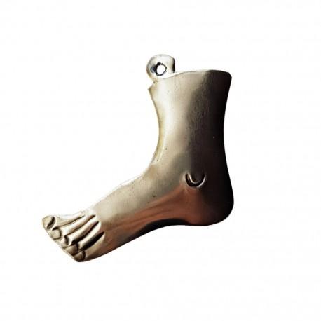 Left foot Tin milagro