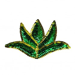 Agave Sequin patch