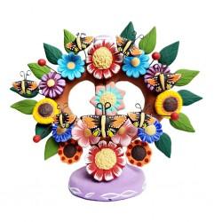 Arbol de la vida florido Morado