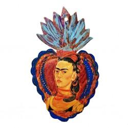 Corazón pintado Frida Kahlo
